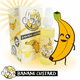 Mr & Mme – Banana Custard 30ml