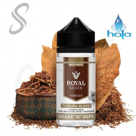 Turkish Blend 50ml - Royal Seven By Halo