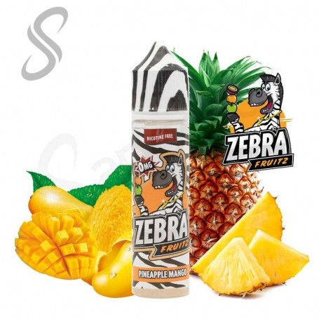Fruitz Pineapple Mango 50ml - Zebra Juice