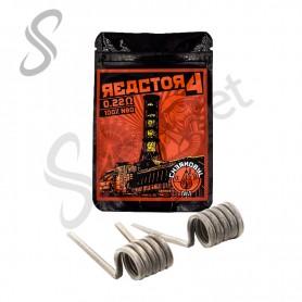 Resistencias Reactor 4 Dual NI80 - Chernobyl Coils