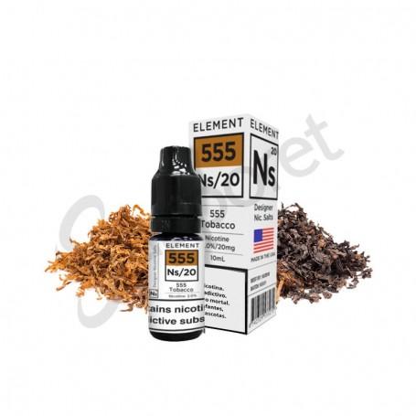 555 Tobacco 10ml 20mg Element e-Liquid