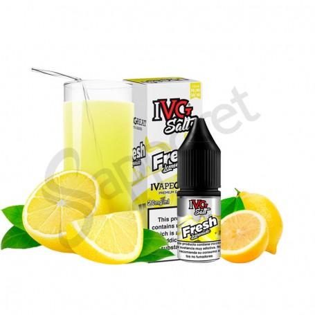 Fresh Lemonade 10ml Salt - IVG
